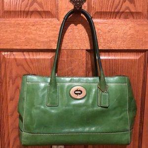 Authentic Coach Madeline Satchel Handbag